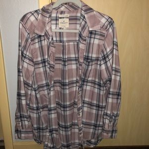 Pink and Gray Flannel
